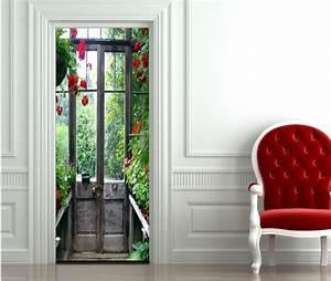 Decoration De Porte : stickers d coration pour vos portes ~ Teatrodelosmanantiales.com Idées de Décoration