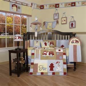 geenny crib cf 2016 fire truck 13 pc baby bedding set