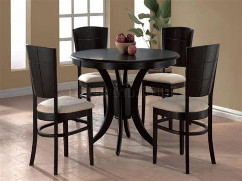 Round Wooden Kitchen Table And Chairs For Sale In Menlo