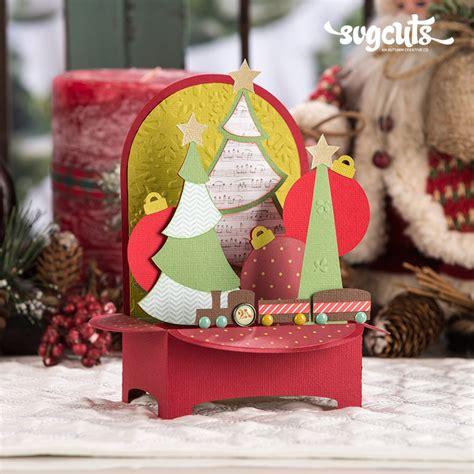 Gift present christmas box free icon. Christmas Box Cards SVG Kit | SVGCuts.com Blog