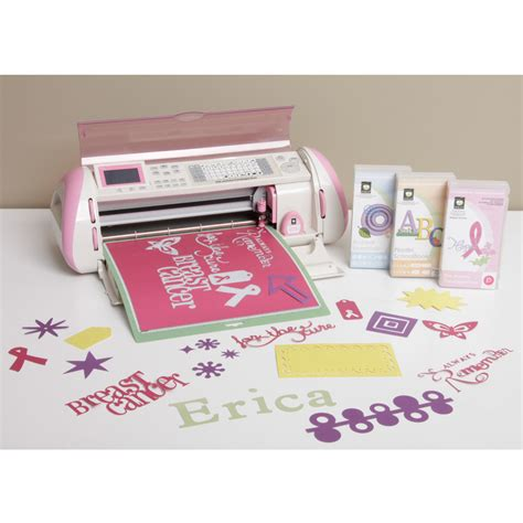 Cricut Pink Expression Die Cutting Machine With 3