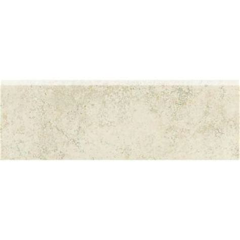 bullnose floor tile daltile briton bone 3 in x 12 in bullnose floor and wall tile bt01p43c9cc1p2 the home depot