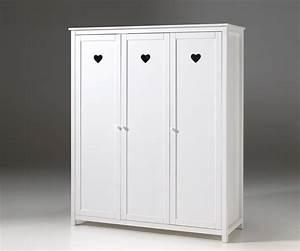 Kleiderschrank 3 Türig Weiß : kleiderschrank amori 3 t rig wei kinder jugendzimmer kleiderschr nke ~ Indierocktalk.com Haus und Dekorationen
