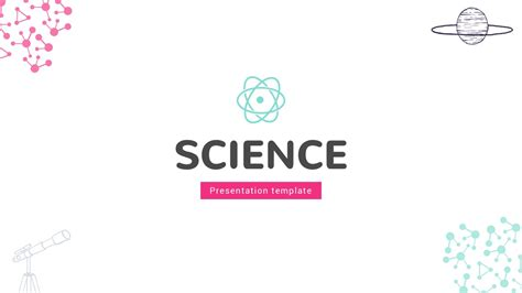 Themed Powerpoint Templates Free by Science Slides Theme Free Presentation