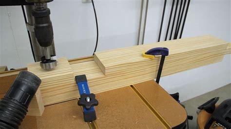build  workbench leg vise