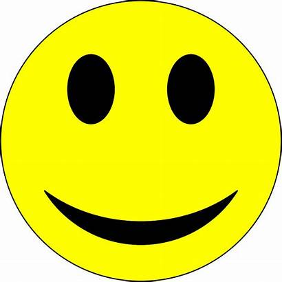 Clip Clipart Smiley Yellow Face Cliparts Yelloe