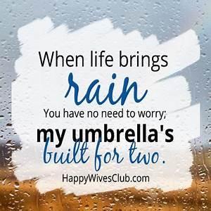 Umbrella For Tw... Wedding Umbrella Quotes