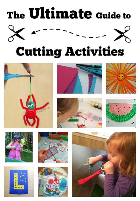 30 cutting activities for preschoolers and toddlers 225 | Ultimate Guide to Cutting Activities for Preschoolers and Kindergartners from Lalymom Tips Tricks Projects and Must Follow Pinterest Boards about Scissor Skills and Cutting Practice