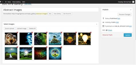 bootstrap gallery wp bootstrap gallery image gallery plugin magnigenie