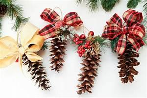 Diy, Pine, Cone, Ornaments