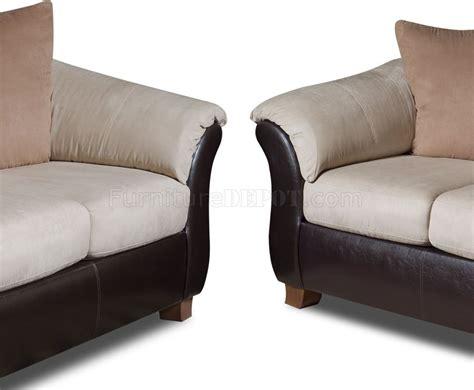 sofa loveseat recliner combo combo microfiber sofa loveseat set w dark bonded leather