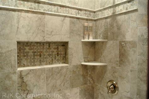 shower corner shelf ceramic tile tub surround ideas corner shelves