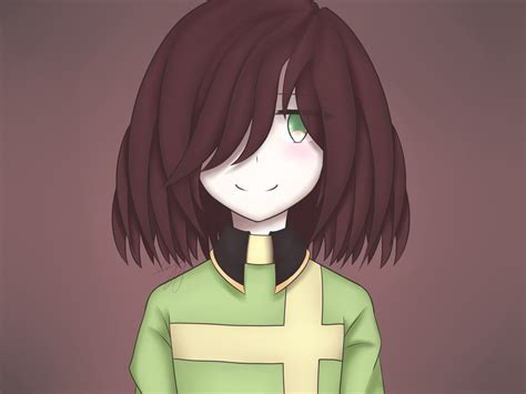 Undertale|chara (version 1) By Lzmk On Deviantart
