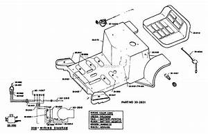 Dixon Ztr 308  1980  Parts Diagram For Body Assembly
