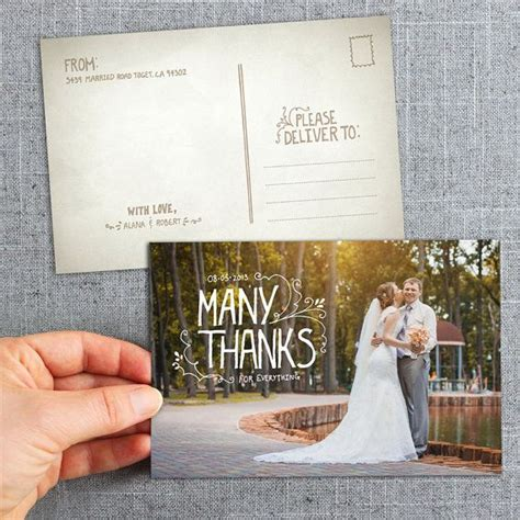 post cards hand lettered   cards country rustic