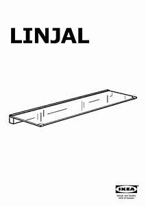 étagère En Verre Ikea : linjal tag re en verre verre clair ikea france ikeapedia ~ Teatrodelosmanantiales.com Idées de Décoration