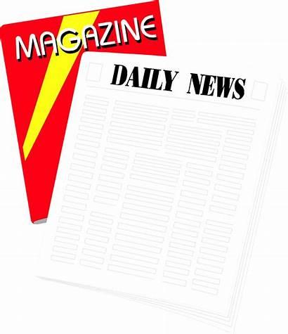 Magazine Newspaper Clipart Illustration Transparent Periodicals Background
