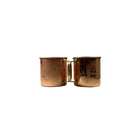moscow mule  solid pure copper mugcup  ounceset   hammered   copper