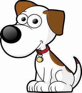 White Dog Very Sad Cartoon Image - Images, Photos, Pictures