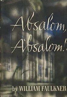 Image result for images book cover absalom absalom