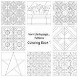 Quilt Coloring Pages Patterns Pattern Blank Adult Quilting Craftdrawer Contest Books Motion Creative Cats Craft Crafts sketch template