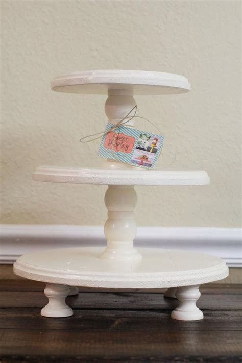 wooden tiered cupcake stand hallops  tiered tray stand  tier tray wood farmhouse rustic