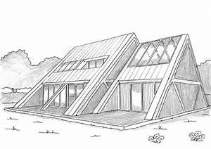 dessin de maison moderne newsindoco With dessin de maison moderne