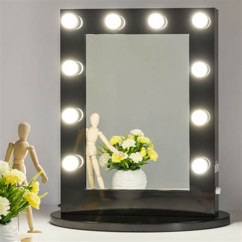 Vanity Mirror With Bulbs - black makeup vanity mirror with light dimmer