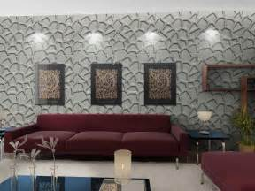 Wallpaper Feature Wall Living Room Gallery