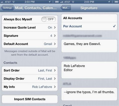 setup email on iphone use ios 6 mail for your iphone and ipod touch the
