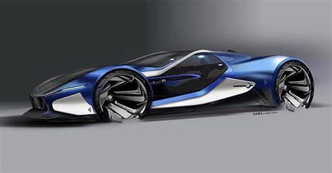 futuristic cars drawings bmw i10 sketch by farzinnimaa cardesign car design