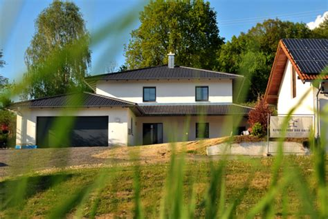 Einfamilienhaus Mit Doppelgarage Hess Bau Gmbh