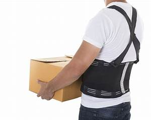 Using A Back Brace When Lifting