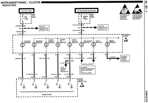 1984 Corvette Radio Wiring Diagram by 1984 Corvette Cluster Wiring Diagram Wiring Diagram