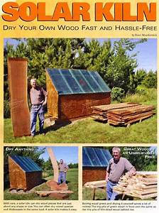 Solar Kiln Plans • WoodArchivist