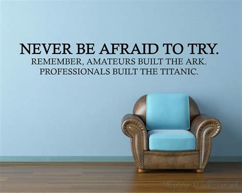 Never Be Afraid Try Professionals Built Titanic Funny