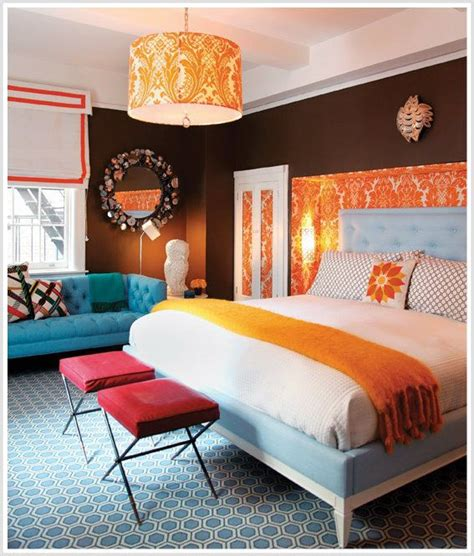 orange color bedroom 1000 ideas about blue orange bedrooms on 12745
