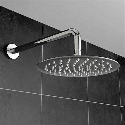 Shower Head Round Steel Stainless Fixed Heads
