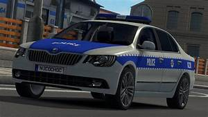 Auto 31 : skoda police v1 1 car euro truck simulator 2 mods ~ Gottalentnigeria.com Avis de Voitures