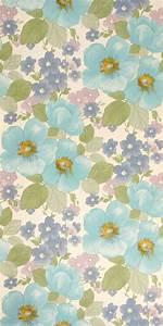 Vintage Tapete Blumen : vintage blumen tapete 70er jahre vintage wallpaper pinterest vintage ~ Sanjose-hotels-ca.com Haus und Dekorationen