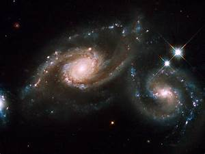 The Colliding Spiral Galaxies of Arp 274 ~ Ideas ...
