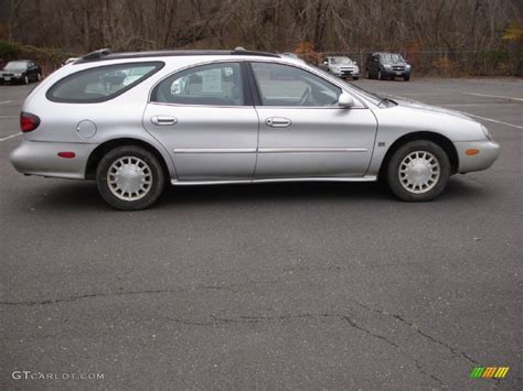 silver mercury table ls silver frost metallic 1999 mercury sable ls wagon exterior