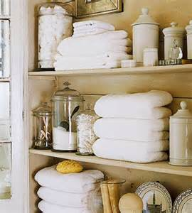Shelves In The Bathroom by Sarah Richardson Kola Rose Designs