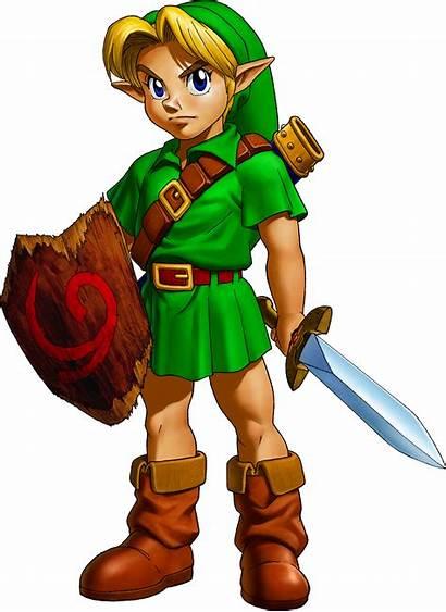 Ocarina Link Arts Zelda Oot Young