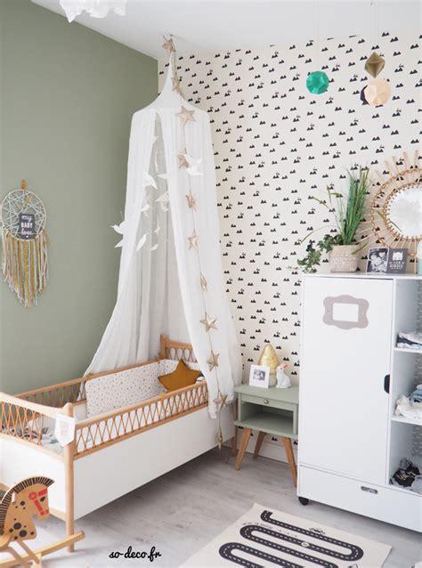 une chambre de bébé avant après