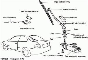 Windshield Wiper Parts Diagram