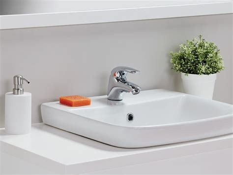 porcher cygnet semi inset basin  bathroom