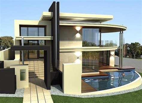 New home designs latest : Modern unique homes designs