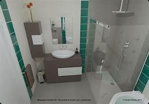 Logiciel 3d Salle De Bain : salle de bain 3d ~ Dailycaller-alerts.com Idées de Décoration