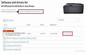 Hp Officejet Pro 6978 Driver Download On Windows 10  2020